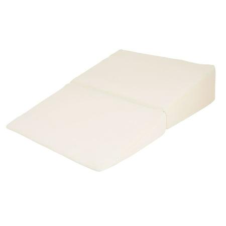 Trademark Global Natural Pedic Folding Wedge Memory Foam