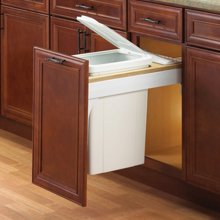- Soft-Close, Top-Mount - Single 35 Qt 17-1/2
