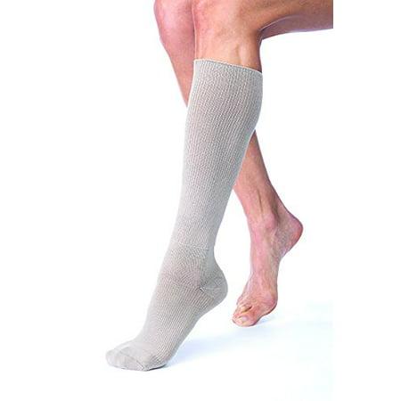 FarrowHybrid ADI ADII Liner/Sock, Foot Compression, BSN Jobst FarrowMed (Class2-Wide/Med, Taupe)