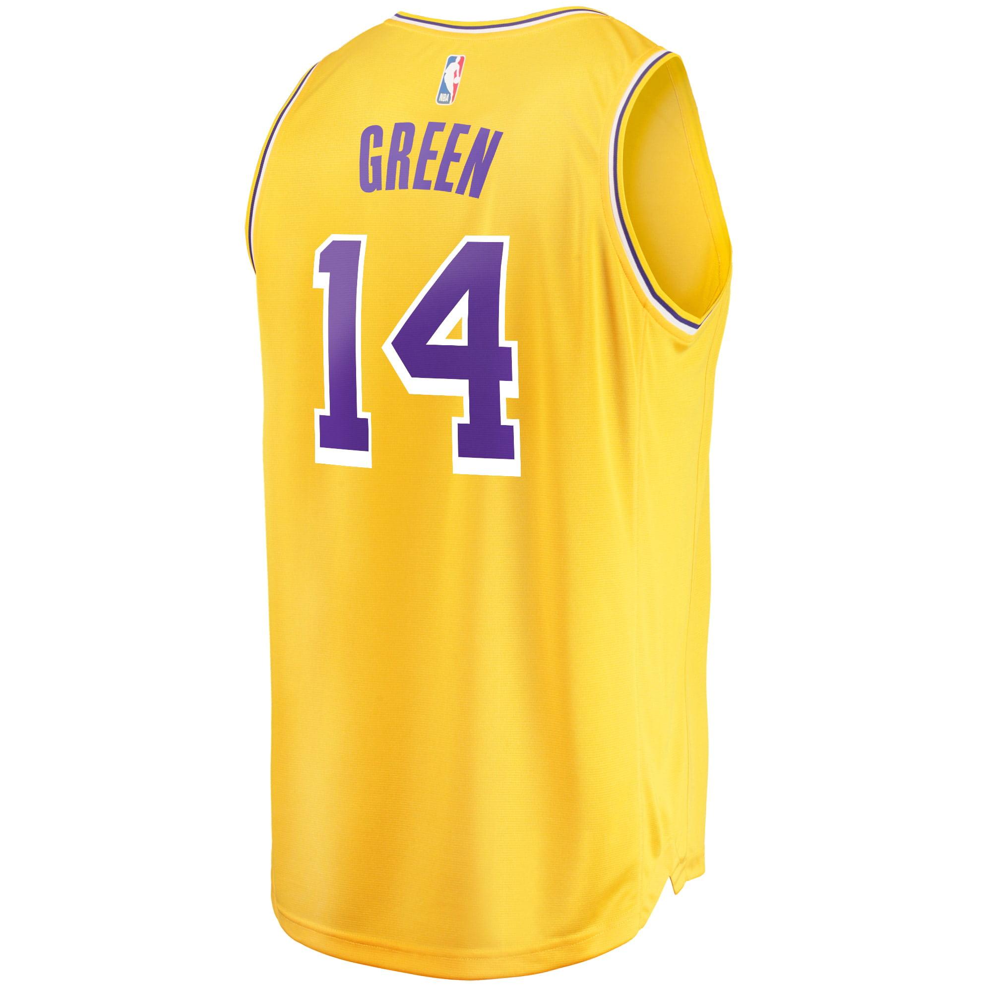 Danny Green Los Angeles Lakers Fanatics Branded Fast Break Replica Player Jersey - Icon Edition - Gold