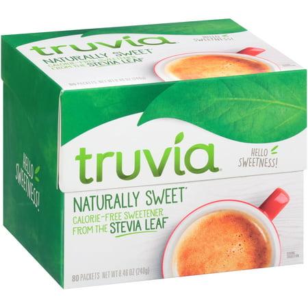 Truvia  Natural Sweetener 80 Ct Box