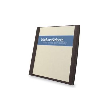 Gbc office products group report cover w inside pocket card slot 50 sh cap ltr 5 pk bk - Gbc office products group ...