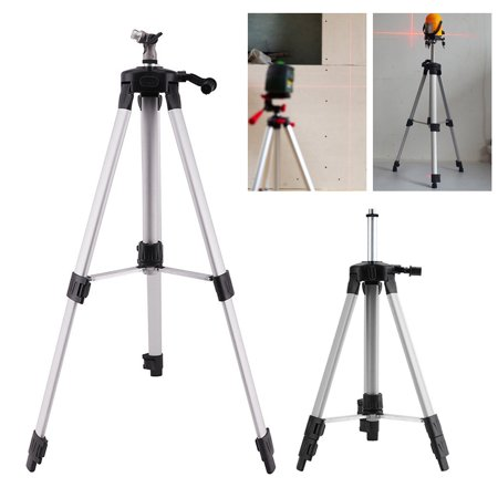 Aluminum Alloy Tripod Adjustable Level Stand For Laser Level Measuring Tool,
