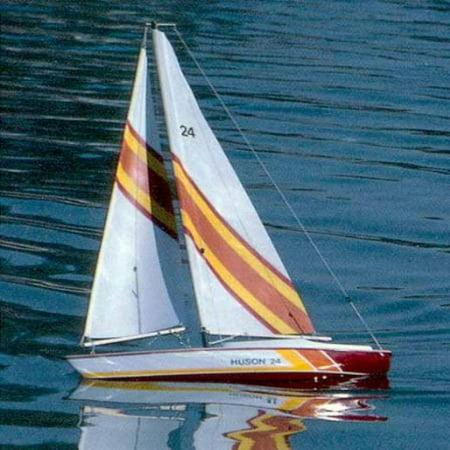 (Huson Wooden SailBoat Kit by Dumas)