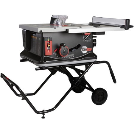 SawStop Jss-Mca 120V 1.5 Hp 15 Amp 10-Inch Jobsite Portable Table Saw With