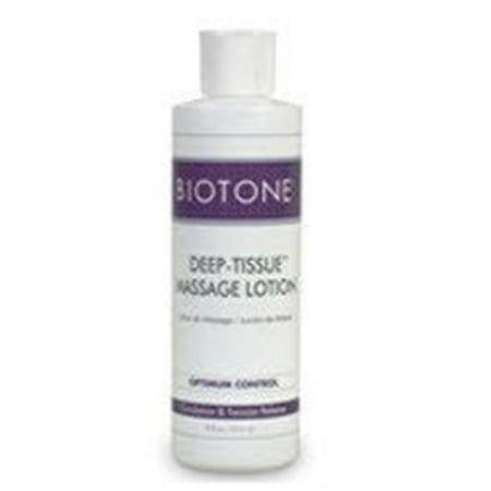 Biotone Deep Tissue Massage Lotion - Biotone BIO1378OZ 8 oz Bottle Unscented Deep Tissue Massage Lotion