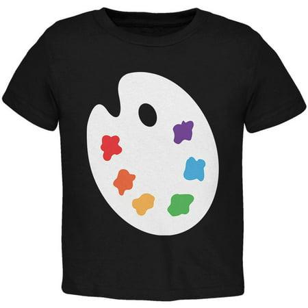 Halloween Artist Palette Costume Toddler T Shirt