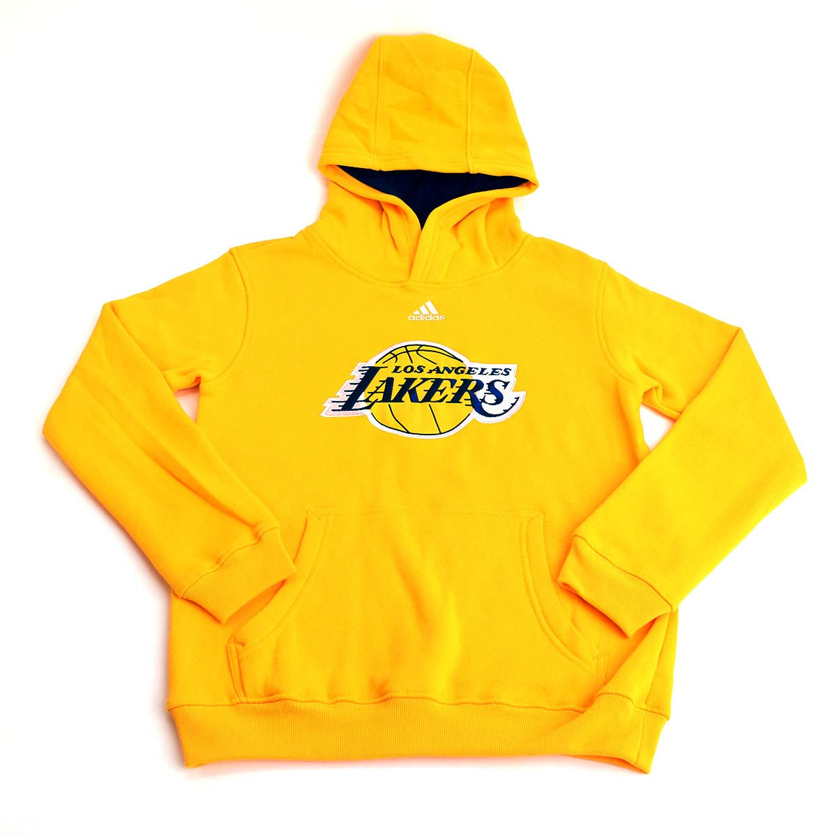Los Angeles Lakers Youth Logo Pullover Hoodie (Gold)