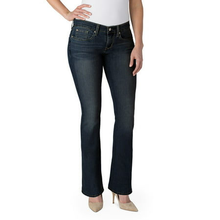 Flap Pocket Bootcut Jeans (Signature by Levi Strauss & Co. Women's Curvy Bootcut)