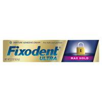 Fixodent Ultra Max Hold Dental Adhesive, 2.2 oz