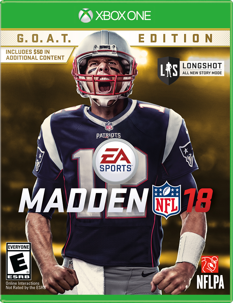 Madden NFL 18 G.O.A.T. Edition, Electronic Arts, Xbox One, 014633738094