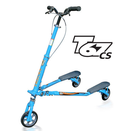 Trikke Tech Inc. T67 Convertible Steel Scooter