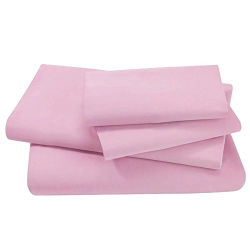 Thread Count Full Size 4pcs Bed Sheet Set Egyptian Comfort Deep Pocked Pink Sheets  Comfortable Recommend
