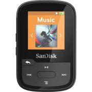 SanDisk Clip Sport Plus 16 GB Flash MP3 Player Black SDMX28016GG46K