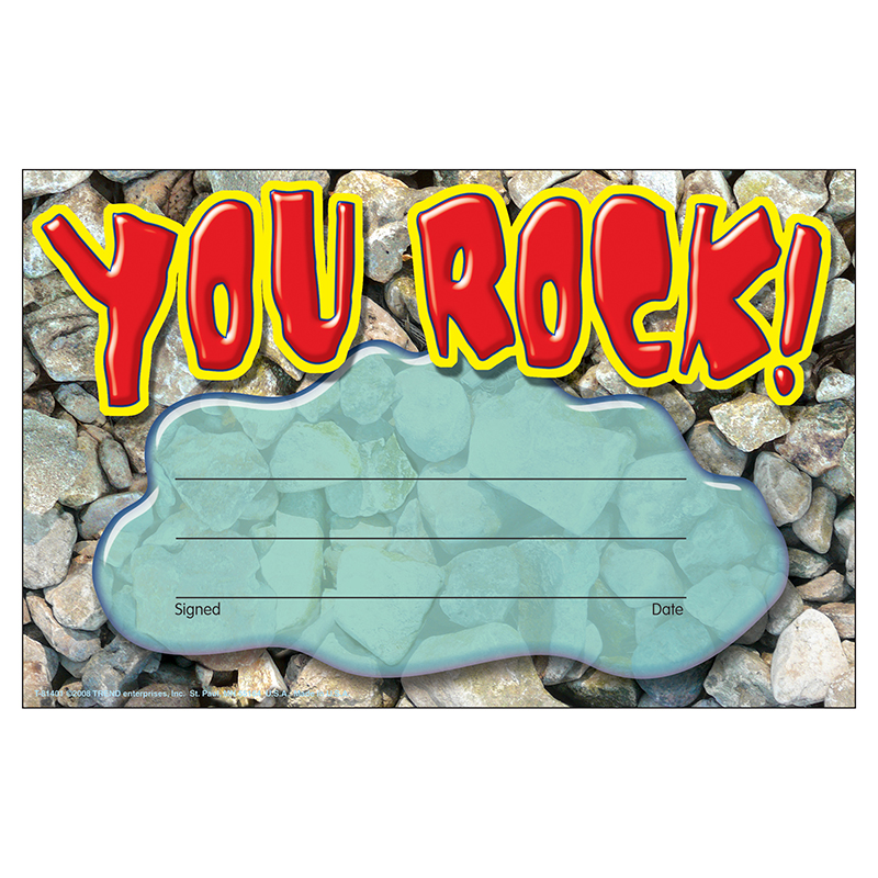 (12 Pk) Recognition Awards You Rock