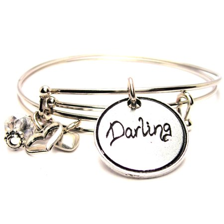 Darling Expandable Bangle Bracelet Set Fits 7 5 Wrist Chubby Chico Charms Exclusive