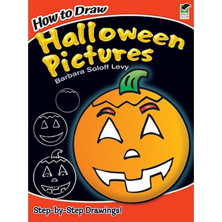 How to Draw Halloween Pictures - Cool Stuff To Draw For Halloween