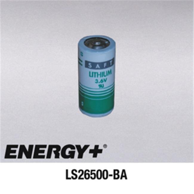 FedCo Batteries Compatible with  Saft LS26500-BA C Size Lithium Cell - 3. 6V  7700mAh