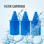 Best Alkaline Water Pitchers - 3 PC Filter Replacement Cartridge for EHM Alkaline Review