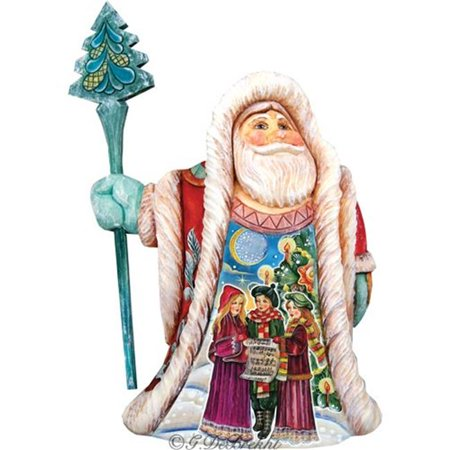 GDeBrekht 532322 Illustrated Christmas Carol Santa