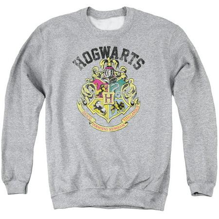 Harry Potter Hogwarts Crest Mens Crew Neck Sweatshirt