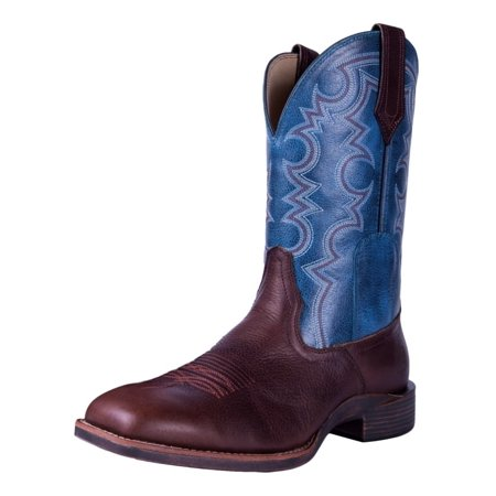 Noble Outfitter Western Boot Men All Around Authentic Adobe Blue