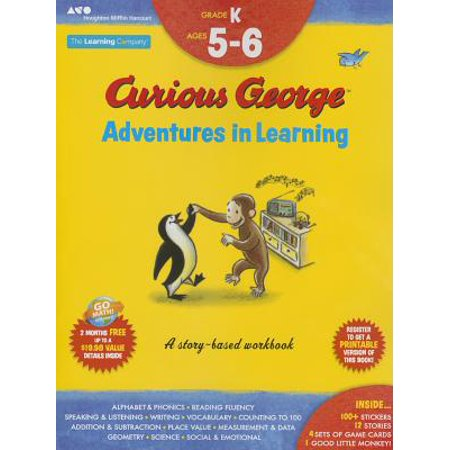 Curious George Adventures in Learning, Kindergarten : Story-based learning - Funny Halloween Stories For Kindergarten