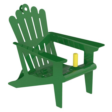 Adirondack Squirrel - Belle Fleur - Bird Feeders Stokes Select Adirondack Squirrel Chair Feeder, One Corn Cob Capacity, Green, CAPACITY: Holds up to 1 corn cob By Belle Fleur Bird Feeders