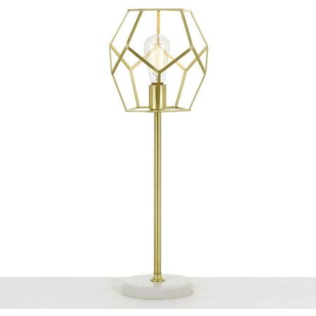 AF Lighting Bellini Table Lamp in Brushed Gold