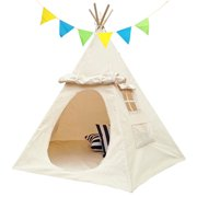 Lavievert Children Playhouse Canvas Teepee Kids Play House