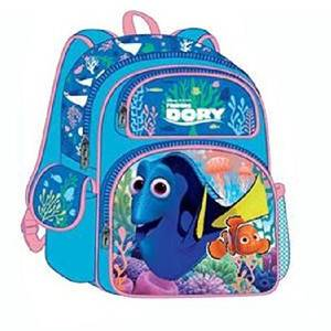 "Backpack - Disney - Finding Dory 3D Pop-up Embossed 16"" New 679941"
