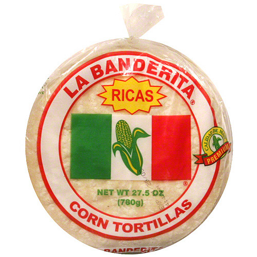 La Banderita White Corn Tortillas, 30ct