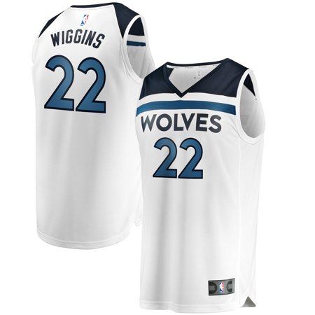 hot sale online bc770 d5eb0 Andrew Wiggins Minnesota Timberwolves Fanatics Branded Fast Break Replica  Jersey White - Association Edition