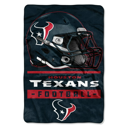 "NFL Houston Texans Sideline 62"" x 90"" Oversized Micro Raschel Throw Blanket, 1 Each"
