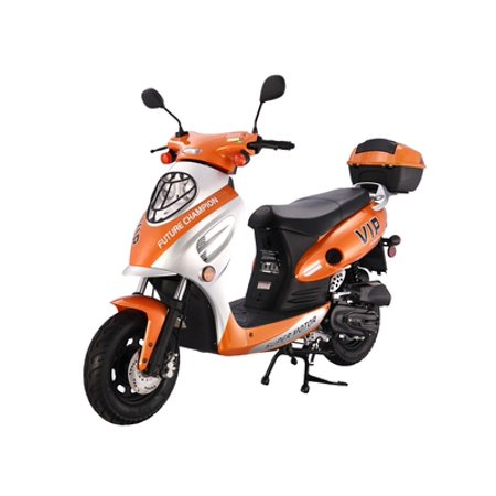 ORANGE Taotao CY-50A 49cc Gas Automatic Scooter Moped Key and Kick Start