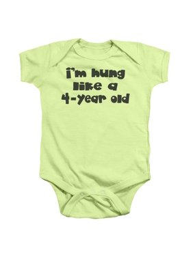 ccb3b9046 Product Image Trevco ATY323E-SS-4 Hung-Infant Snapsuit, Soft Green - Extra  Large