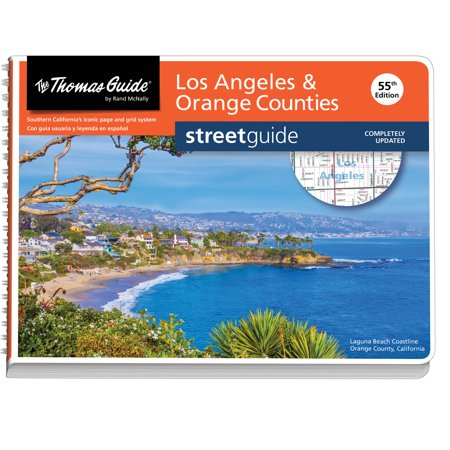 Los Angeles and Orange Counties Street Guide Orange County Graphics