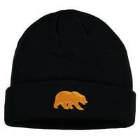 Men's Navy Cal Bears Cuffed Knit Hat - OSFA