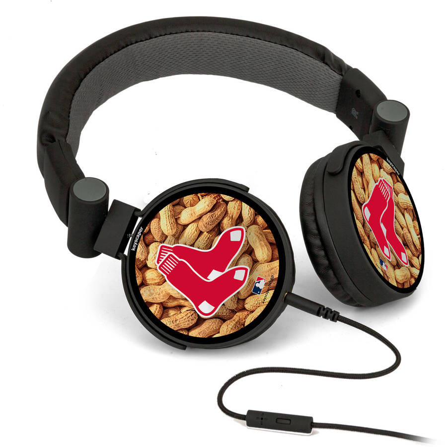 Boston Red Sox DJ-Style Headphones