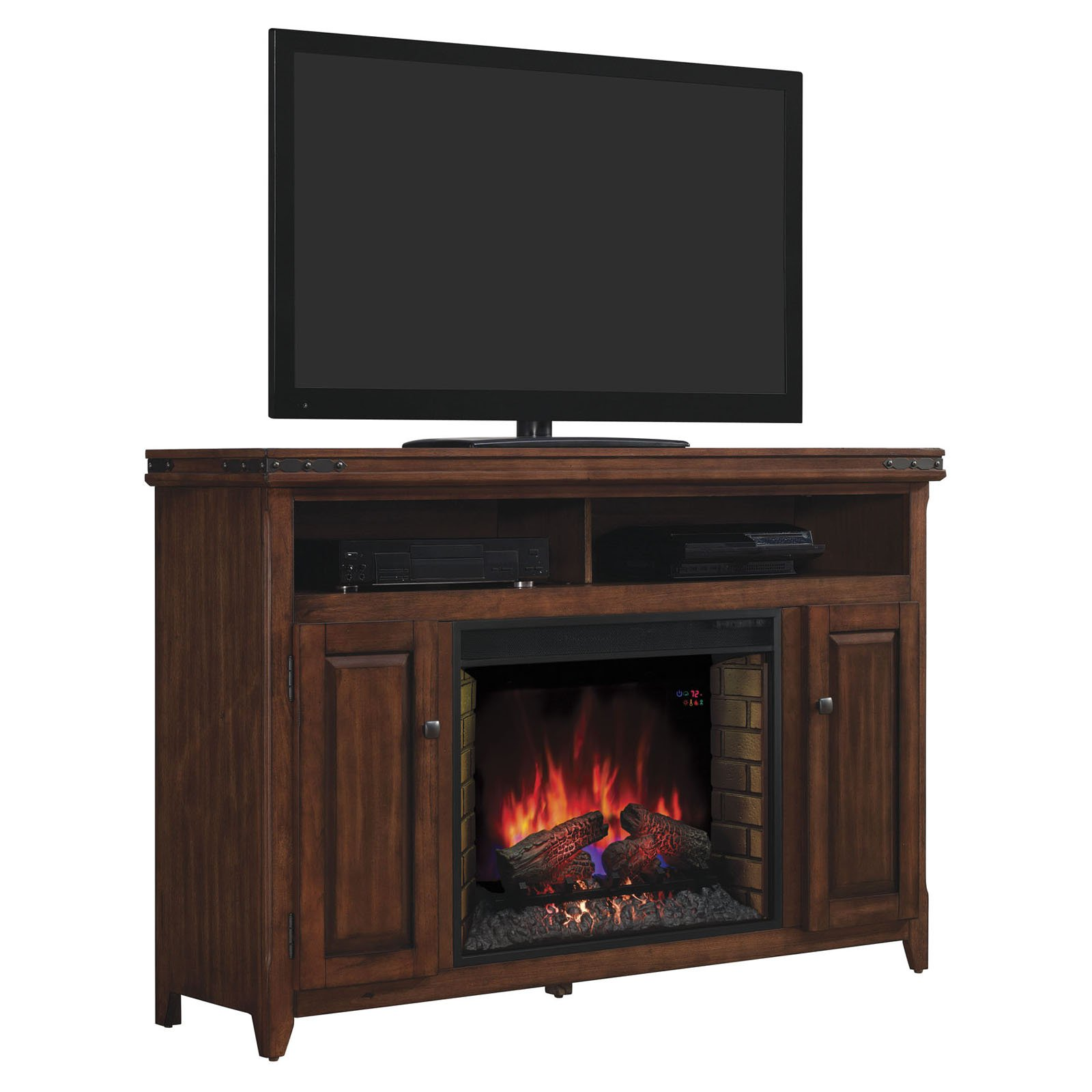 Classic Flame Mayfield Infrared Fireplace Entertainment Center - Cherry