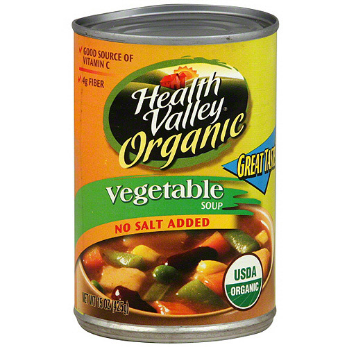 Health Valley Vegetable Soup, 15 oz (Pack of 12) by Generic