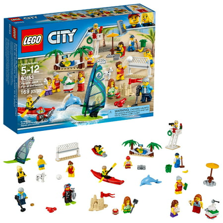 LEGO City Town People pack – Fun at the beach 60153