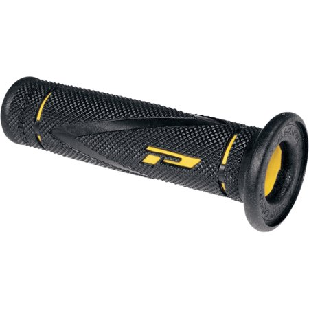 Pro Grip 838 X-Slim Road and Trail Grips, Black/Yellow