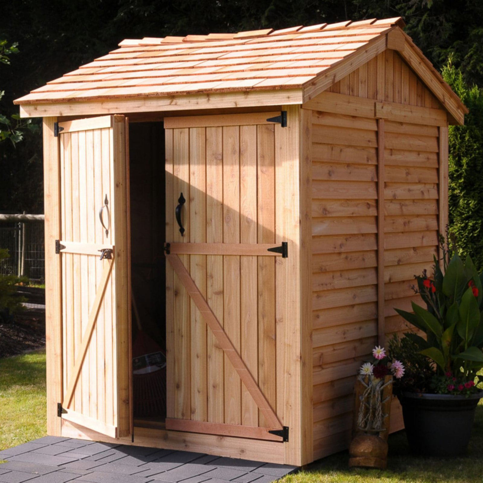 Outdoor Living Today Maximizer 6 x 6 ft. Storage Shed
