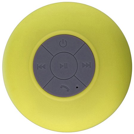 SoundBot ® SB510 HD Water Resistant Bluetooth 3.0 Shower Speaker, Handsfree Portable Speakerphone with Built-in Mic, 6hrs of playtime, Control Buttons and Dedicated Suction Cup for Showers, Bathroom, Pool, Boat, Car, Beach, & Outdoor Use, Yellow [Yellow, standard]
