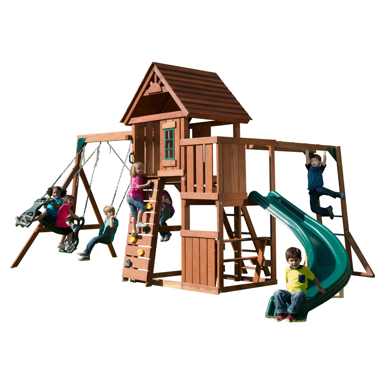 Swing-N-Slide Cedar Brook Wooden Play Set