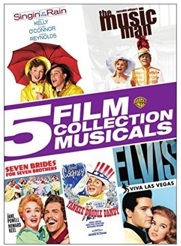 5 Film Collection: Musicals Singin' In The Rain   The Music Man   Seven Brides For Seven Brothers   Yankee... by