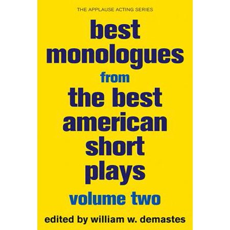 Best Monologues from the Best American Short