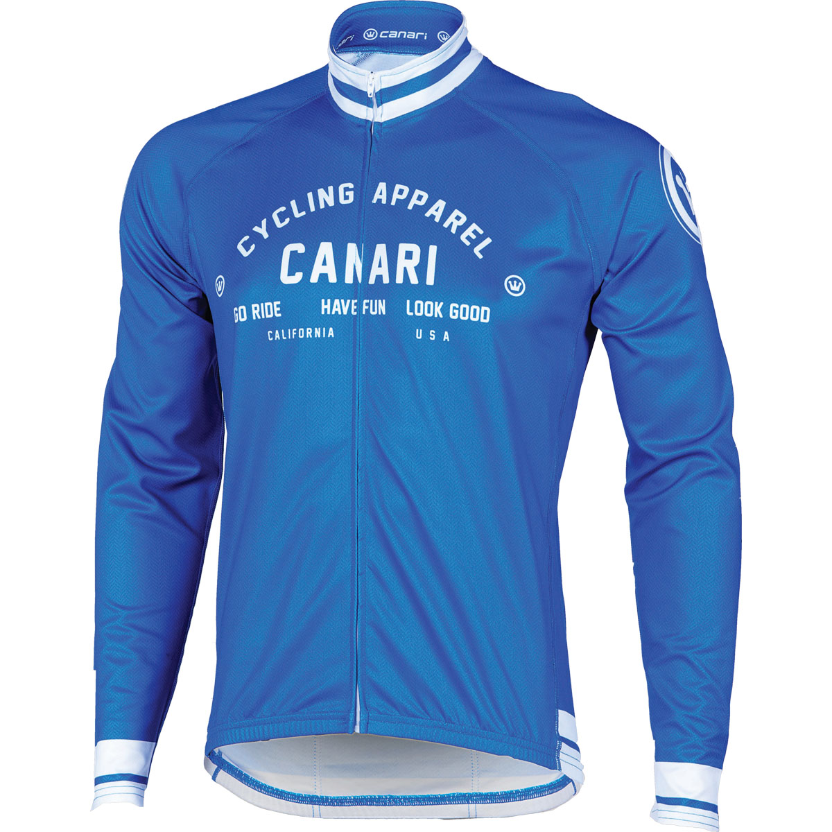 Canari Cyclewear 2014/15 Men's Campari Cycling Jersey - 15109 (Breakaway Blue - 2XL)