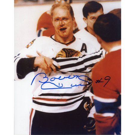 Bobby Hull Autographed 8 X 10 Photo